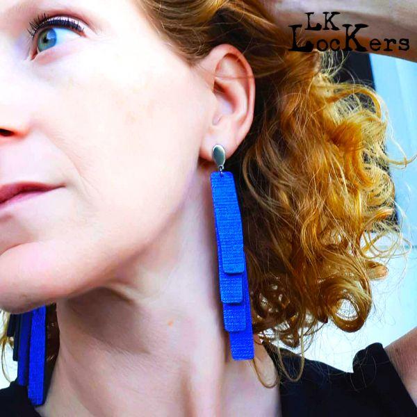 LK-Lockers - orecchini in pelle Collezione Natale 2019